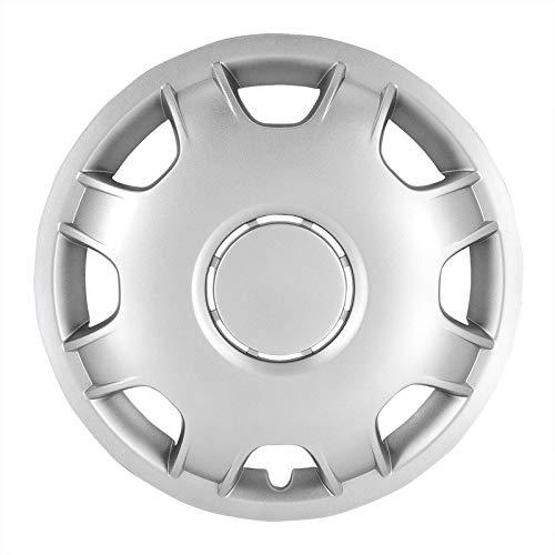 Preisvergleich Produktbild TSS Handel Radkappen Radzierblenden 4 Stück 15 Zoll Silber