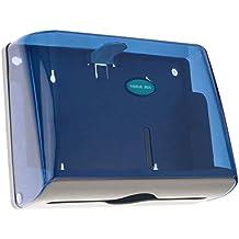 PrimeMatik - Dispensador de Toallas de Papel para baño en Azul