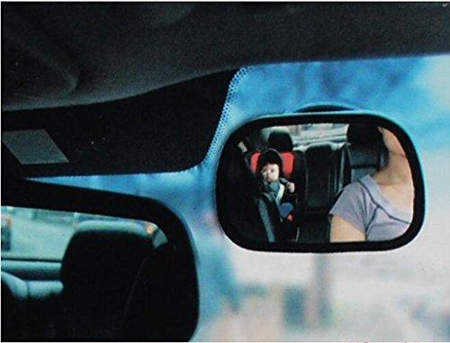 Siège de sécurité Miroir intérieur Miroir de surveillance enfant Miroir de voiture de bébé Miroir réfléchissant auxiliaire Miroir