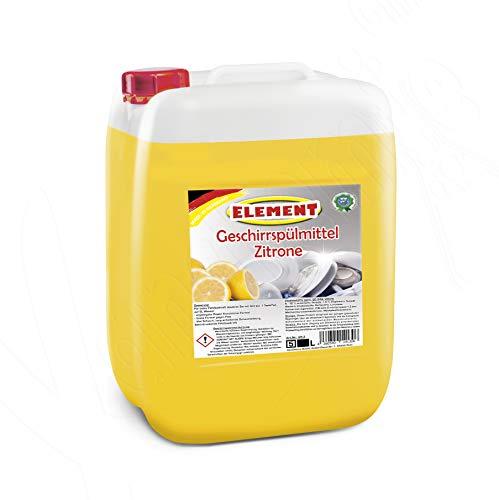 Geschirrspülmittel Konzentrat Spülmittel Handspülmittel Zitrone 5 Liter Geschirrreiniger Geschirr Reiniger Kanister - Flüssiges Konzentrat Zitrone