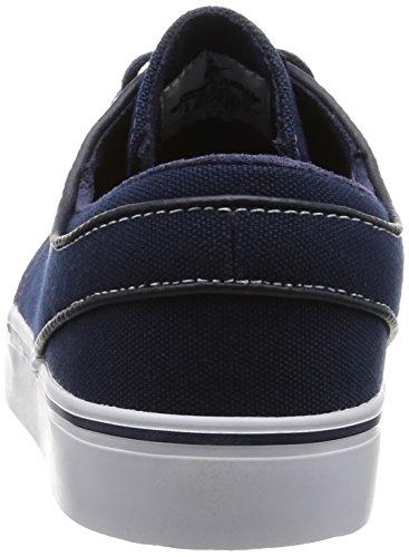Nike Zoom Stefan Janoski Cnvs, Scarpe Da Planche À Roulettes Unisexe Adulto Obsidien / Blanc-gum Clair Marron