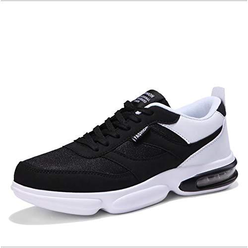 Calzado de caballero, Zapatillas de deporte informales / de viaje, Zapatillas de deporte de microfibra de primavera y otoño, Zapatillas de deporte con cordones, Zapatos deportivos de cordones de la moda, Zapatos deportivos