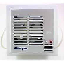 Detector de Gas y extractor de gas de fácil instalación. Sensor de Gas de detección inmediata. Detector Gas natural, ciudad, propano o butano para locales, viviendas y autocaravanas