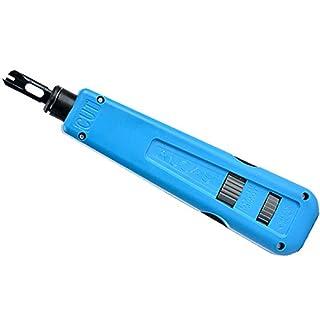 KUNSE Aucas Netzwerkkabel Aufprall Krone Werkzeug Modul Block Einsteck Gerät 110 Typ Patch Panel Hookup Tool