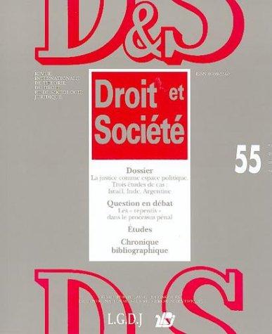 Revue droit et societe nø55-2003 (Droit&Societ)