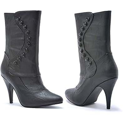 Ellie Shoes 194350 Ruth victorien Bottes noires adultes