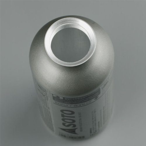41HQT6tmyfL. SS500  - SOTO SOD-700-10 Fuel Bottle for Muka Stove 1 Litre Silver