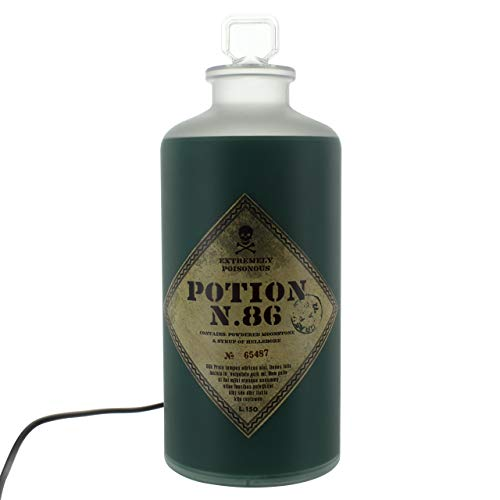 41HQTpZJp8L - Harry Potter LAMPARA 3D Potion Bottle, Verde