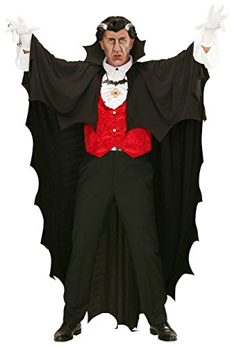 Widmann 00097 - Umhang Vampir, schwarz, 150 -