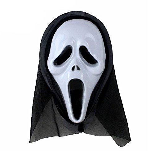 ween lustige Vielfalt Phantasie Ball Maske Clubbing Party Cosplay Tanz Rave für Festival Horror wesentliche Geschenk ()