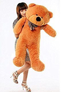 CLICK4DEAL 4 FEET Long Large Teddy Bear Brown (122 cm)