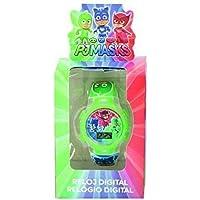 PJ Masks Orologio Digitale Automatico Unisex Bambino con Cinturino in Plastica 17026