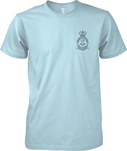 Airborne Delivery Wing - RAF Royal Air Force - T-Shirt - Light Blue - L (Force Wings T-shirt Air)