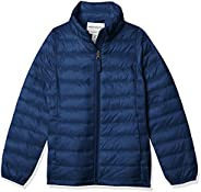 Amazon Essentials Light-Weight Water-Resistant Packable Mock Puffer Jackets Outerwear-Jackets Niñas