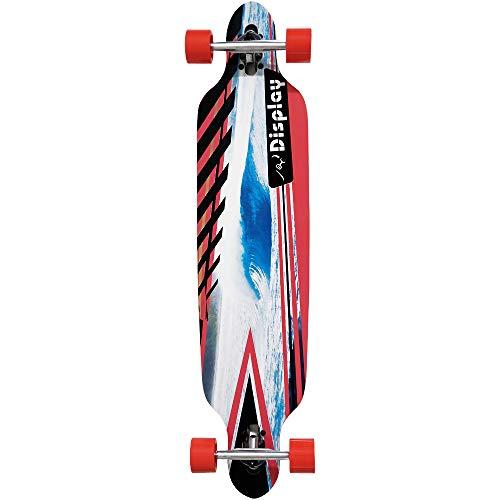 Unbekannt Atlantic Rift Longboard - 107x24cm - ABEC 9 - Farbe : Wave Surfer