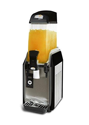 Solera Granizadora Eco D-112, digital, 1 depósito para hacer 12 Litros de granizados, cócteles y sorbetes. Productos de regalo 1 Brik (5 litros de granizado/cóctel o 3 de sorbete). 1 Dispensador de cañas (100 ud)