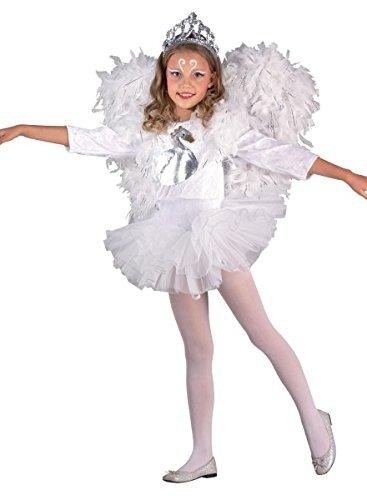 Schwanenkostüm White Swan Kostüm, Größe:104 (White Lady Kostüm Ideen)