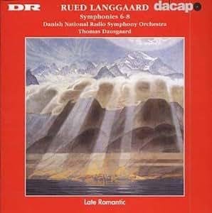 Langgaard: Symphonies 6,7 & 8