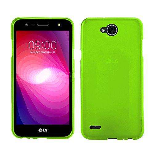 TBOC® Grün Gel TPU Hülle für LG X Power2 - LG X Power 2 (5.5 Zoll) Ultradünn Flexibel Silikonhülle