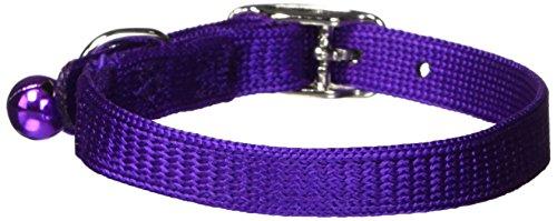 Artikelbild: Hamilton Sicherheit Katzenhalsband mit Bell, schwarz, 3/20,3cm breit x 25,4cm lang
