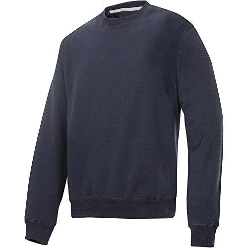 Snickers Rundausschnitt Sweatshirt navy Größe: XL Marineblau
