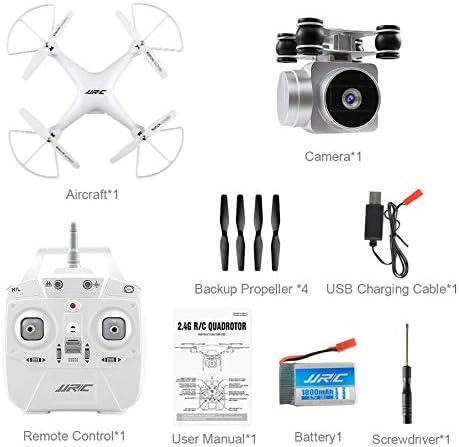 KNOSSOS JJRC H68 Quadcopter Real-Time Transmit 200W Camera Altitude Hold WiFi RC Drone | Une Bonne Conservation De La Chaleur