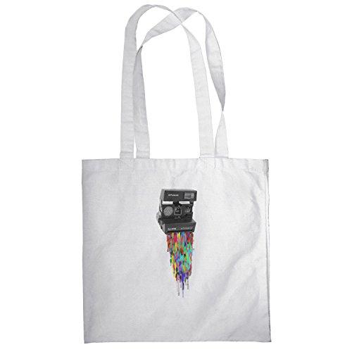 Texlab–Cola Roid–sacchetto di stoffa Bianco
