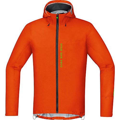 GORE WEAR Herren Active Jacke Power Trail Gore-tex, Blaze Orange, S