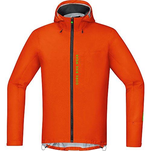 GORE WEAR Herren Active Jacke Power Trail Gore-tex, Blaze Orange, S