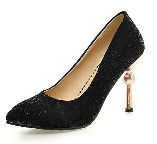 voguezone009-womens-spikes-stilettos-frosted-solid-pull-on-pointed-closed-toe-pumps-shoes-black-38