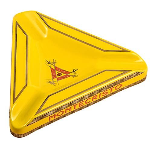 Yangtt triangolo ceramica portacenere del sigaro portacenere