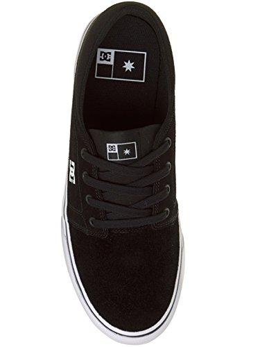 Herren Skateschuh DC Trase S Skateschuhe Noir - Black/White/White