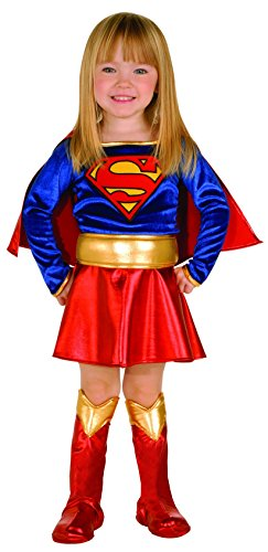 Rubie's Supergirl-Kostüm für Mädchen (Child Supergirl Kostüm)