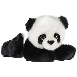 Heunec 241572 Oso de juguete Felpa Negro, Color blanco juguete de peluche - juguetes de peluche (Oso de juguete, Negro, Color blanco, Felpa, 230 mm, 130 mm, 120 mm)