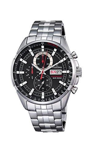 Festina Herren-Armbanduhr Chronograph Quarz Edelstahl F6844/4 - Festina Uhren