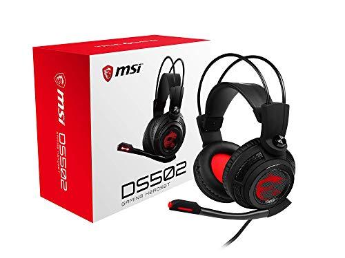 MSI DS502 - Auriculares para Gaming con micrófono
