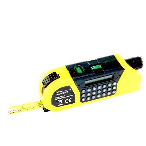 Generic 3in 1Laser-Stahlbandmaß mit Entfernungsmesser und integrierten Level)