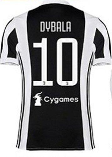 1706bb2b9b65b Nuevo Conjunto Equipacion Camiseta Jersey Futbol Juventus 2017-2018 Dybala  10 Replica Autorizado.