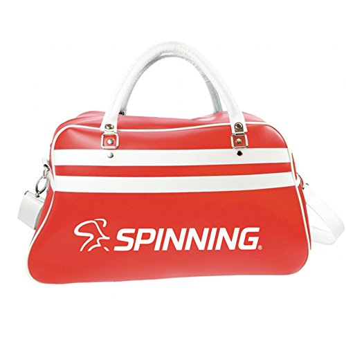 Spinning Unisex Retrobag Retro Sports Bag, Red, 52 x 32 x 21 cm