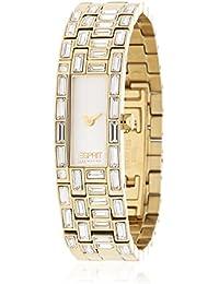 Esprit - EL900282005 - Montre Femme - Quartz Analogique - Cadran Blanc - Bracelet Acier Doré