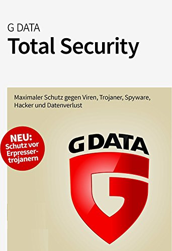 G DATA Total Security 2017 3 PC | 1 Jahr