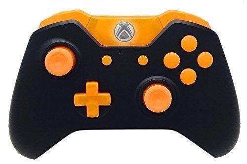Xbox One Modded Controller mit Rapid Fire und kompatibel mit Allen Games 1 Advanced Warfare, Schwarz/Orange