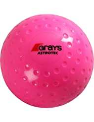 Grays Hockey deportes Match Play PVC con hoyuelos Astrotec Bola Fluoro Rosa 5. 5 oz