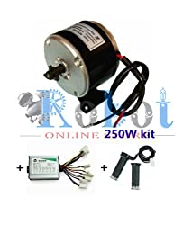 24V Motor My1016 250W Motor Controller And Twist Throttle, Diy Electric Bicycle Kit