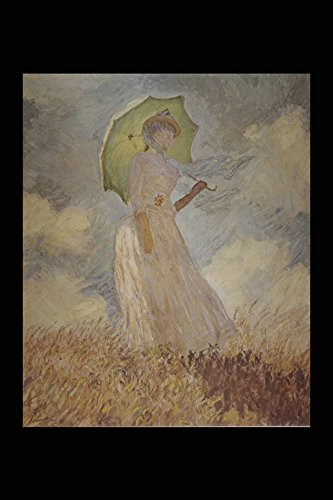 401003 _Signora Con L'Ombrello' Claude Monet A4 Photo Poster Print 10x8 - 8x10 Monet