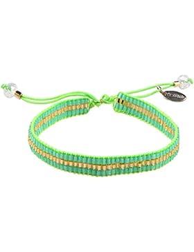 KELITCH Armband Mehrfarbig Rocailles Perlen Geflochtene Freundschaftsarmbänder