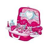 Blue-Yan Play House Toy - Schminktisch Spiegel Kosmetikkoffer Spielzeugset für Kinder