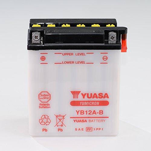 Batteria 12V 12Ah YB12A -B piombo acido Yuasa 51215senza acido Pack Aprilia Leonardo 125TB Honda CB 450S PC17GB 500Club Uomo PC16XBR PC15XL 600V Transalp PD06PD10