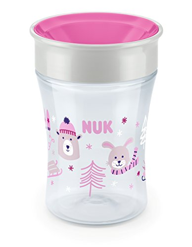 NUK - Magic Cup, neuartiger Trinkrand, abdichtende Silikonscheibe, 230 ml