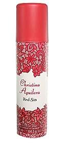 Christina Aguilera Red Sin femme / woman, Deodorant, Vaporisateur / Spray 150 ml, 1er Pack (1 x 150 ml)
